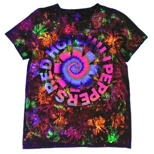 Red Hot Chili Peppers Custom Glow Blacklight Tee M